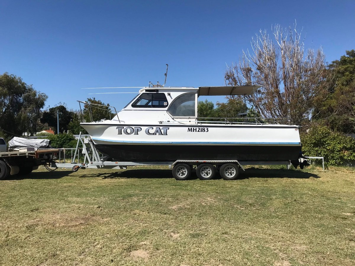 Shark Cat 26 foot cat with truck to tow $45k firm