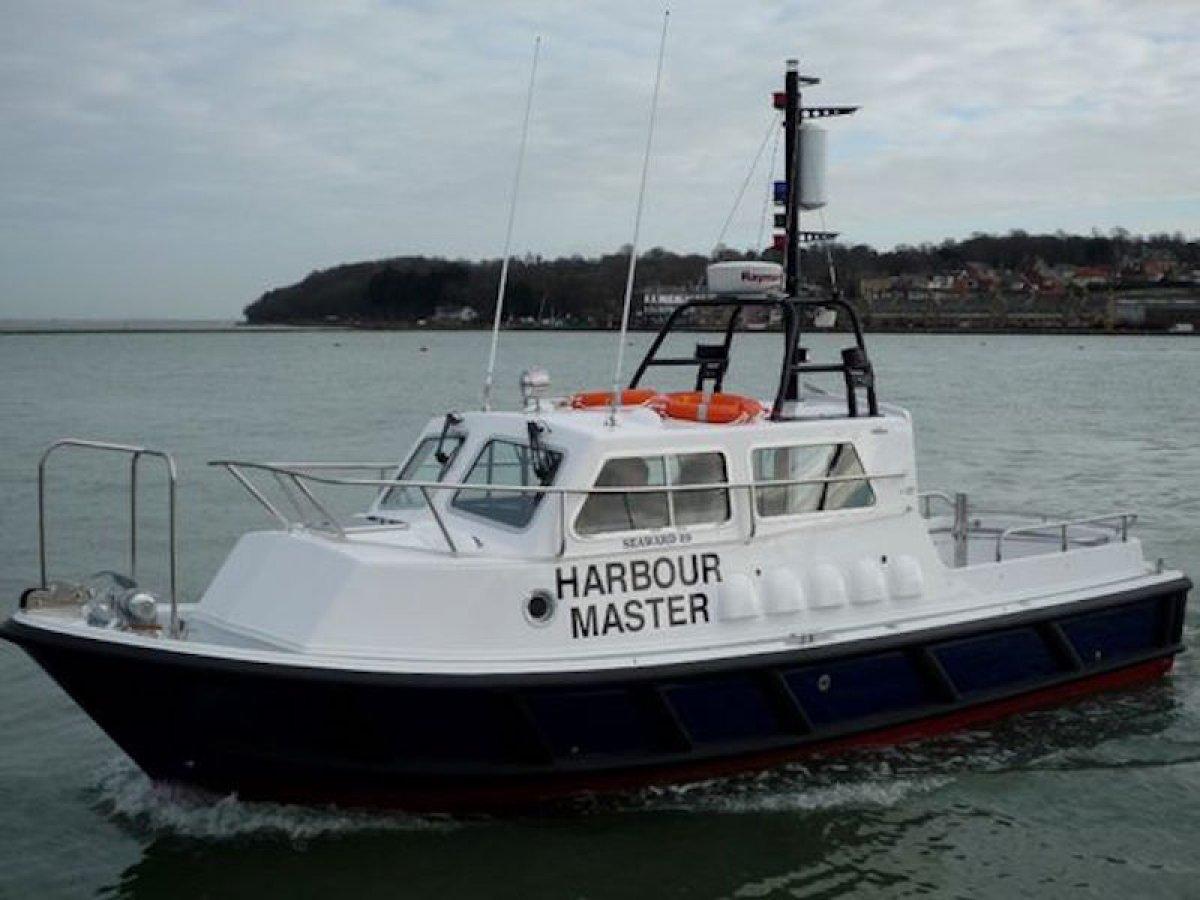 Seaward 29ft Harbour Launch and Harbour Pilot Boat