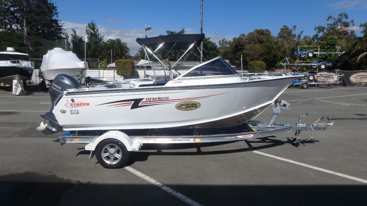 Stacer 489 Bay Master + Yamaha F70LA 70hp Four Stroke Outboard