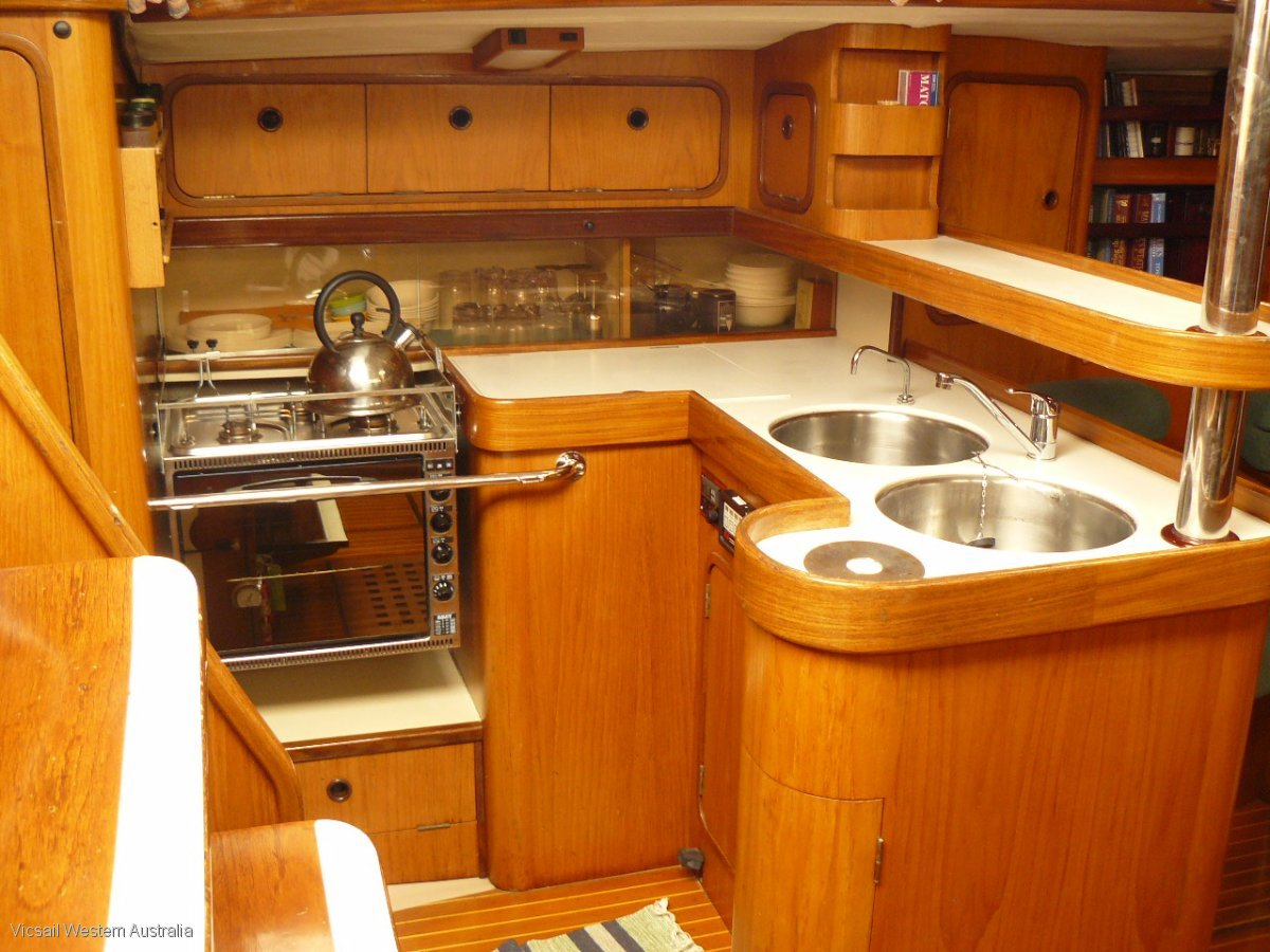 Beneteau First 51, Four Spreader Cutter Rigged Sloop