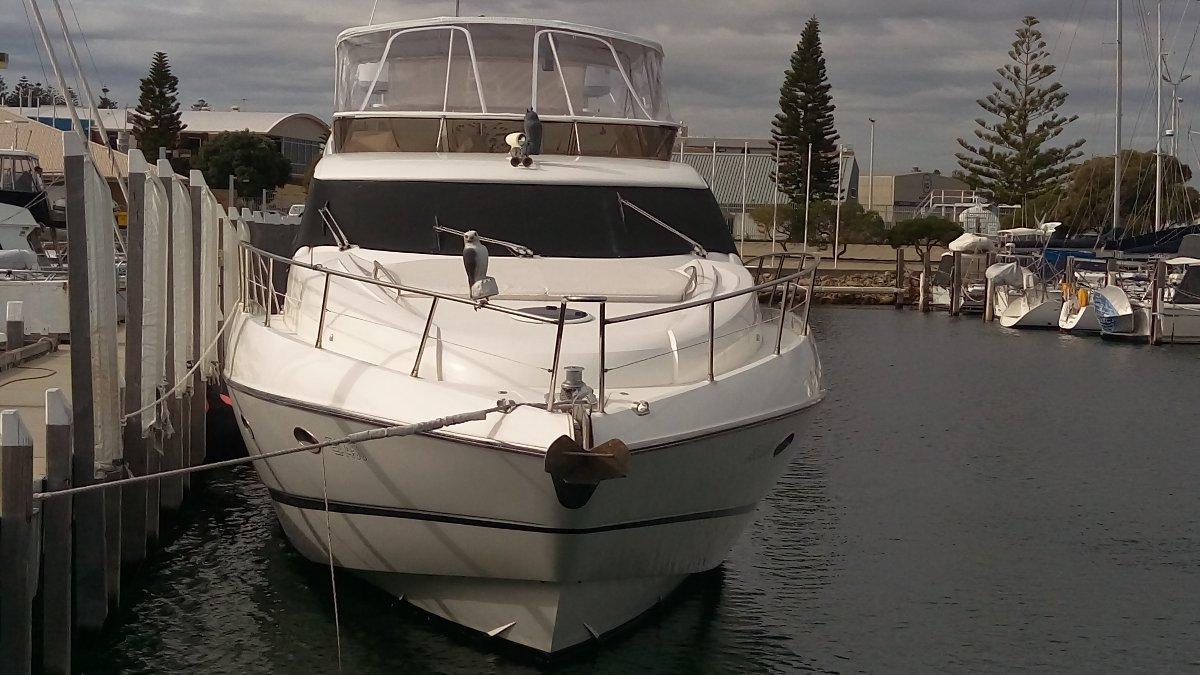 Sunseeker Manhattan 64 Fully Enclosed Fly Bridge clears