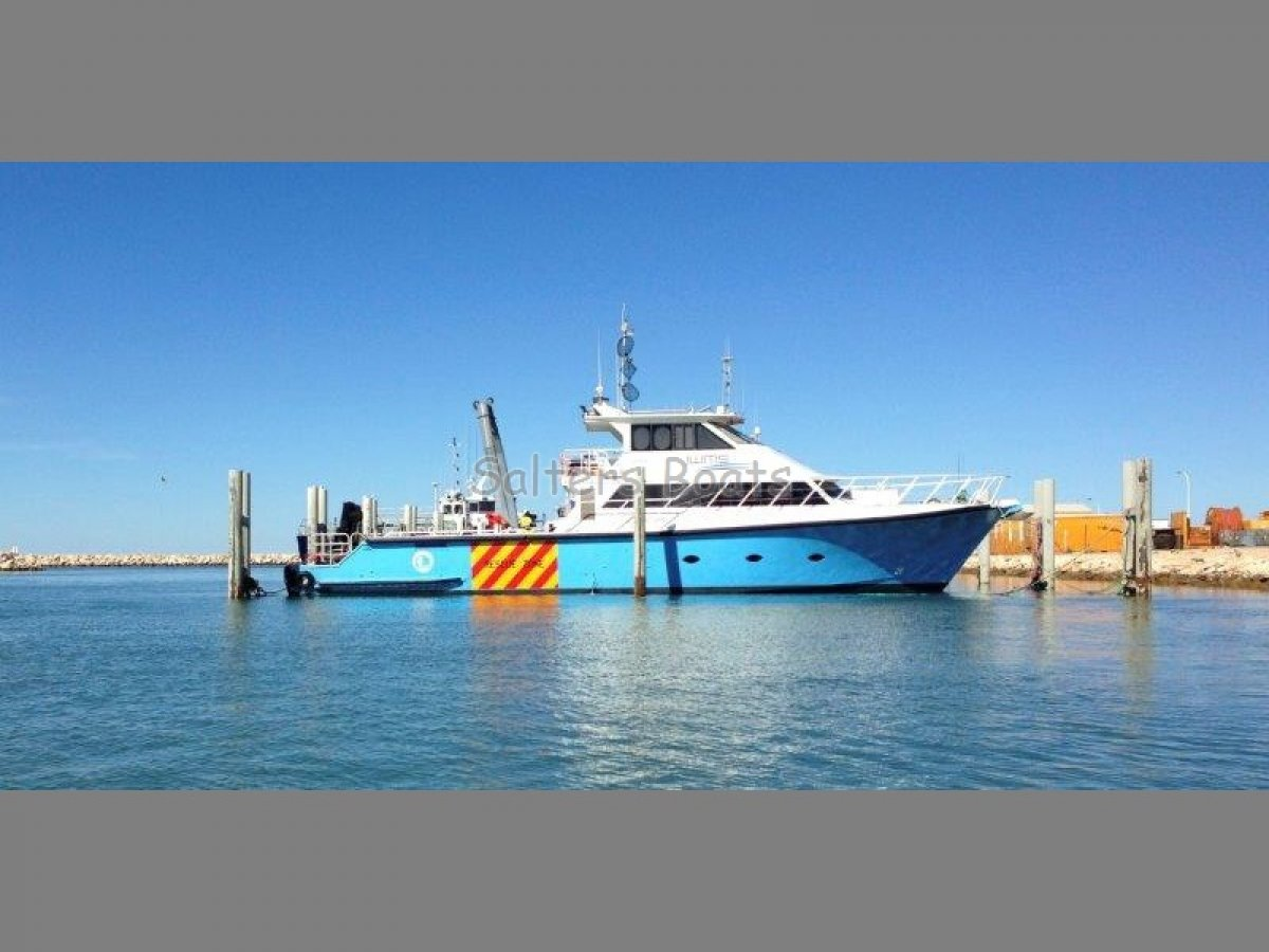 Custom 24m Fine Entry Marine Charter/Work Vessel