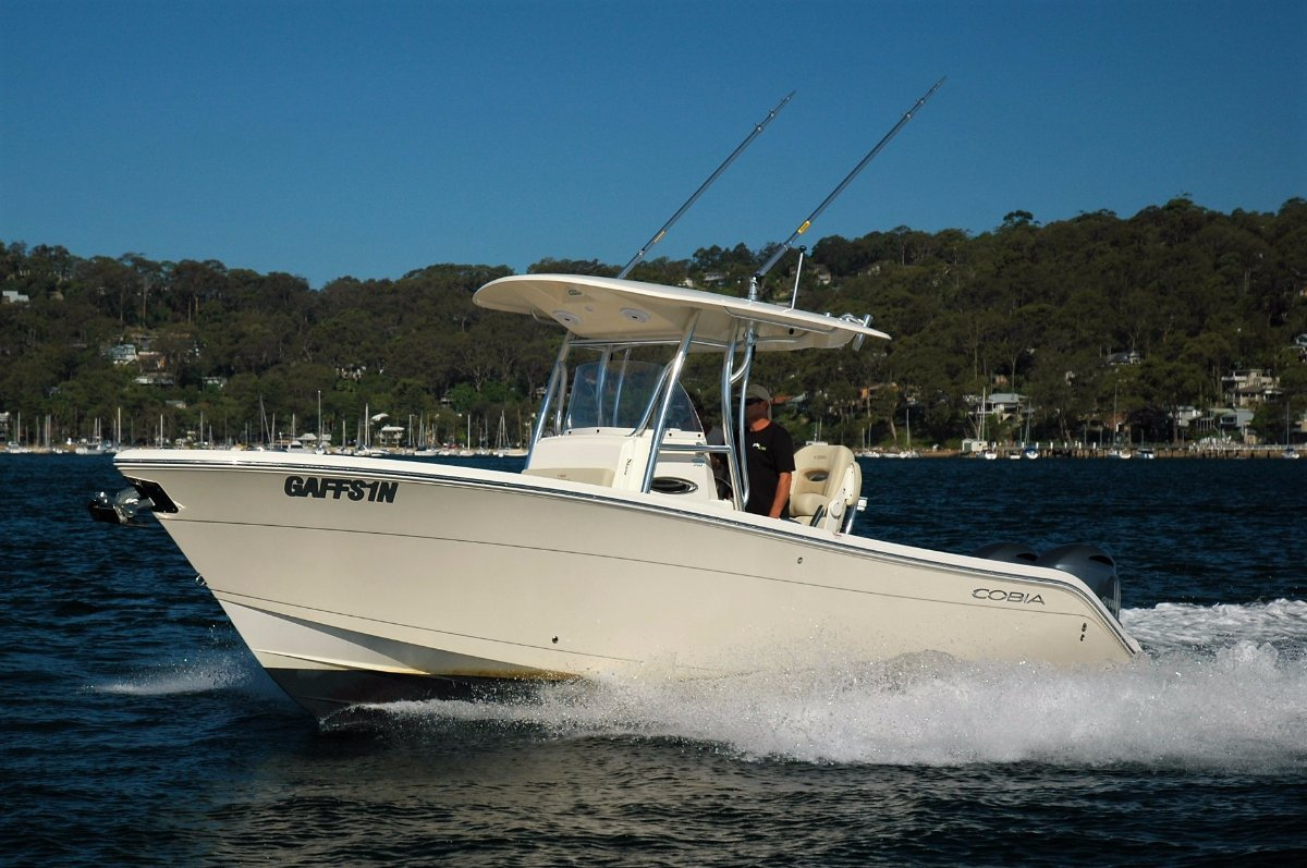 Cobia 261 Centre Console - New Boat In Stock - SOLD
