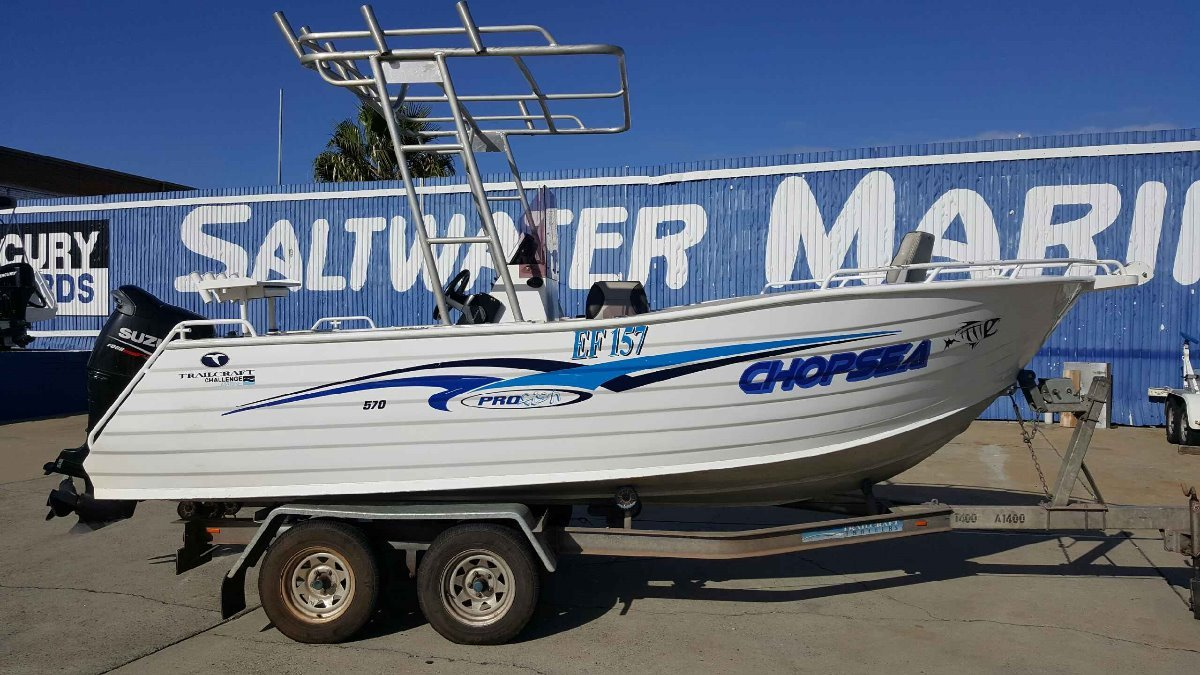 Trailcraft 570 Profish PRICE REDUCED!!!