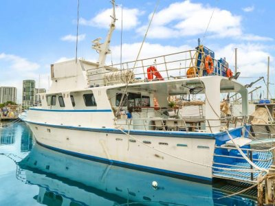 20m Aluminium Dive / Charter / Fishing Vessel