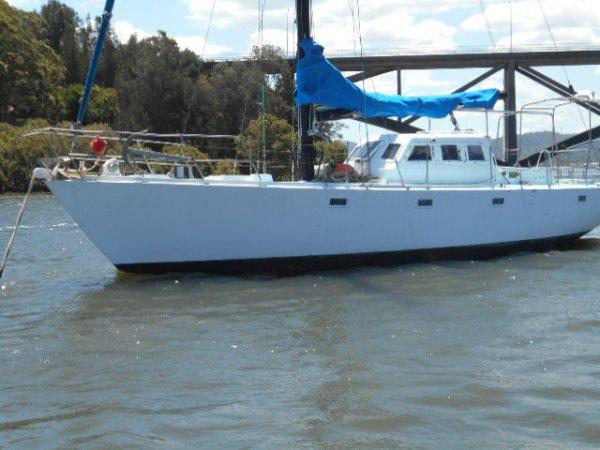 Hartley Fijian 43 Hartley Fijain 43 ferro world crusing yacht