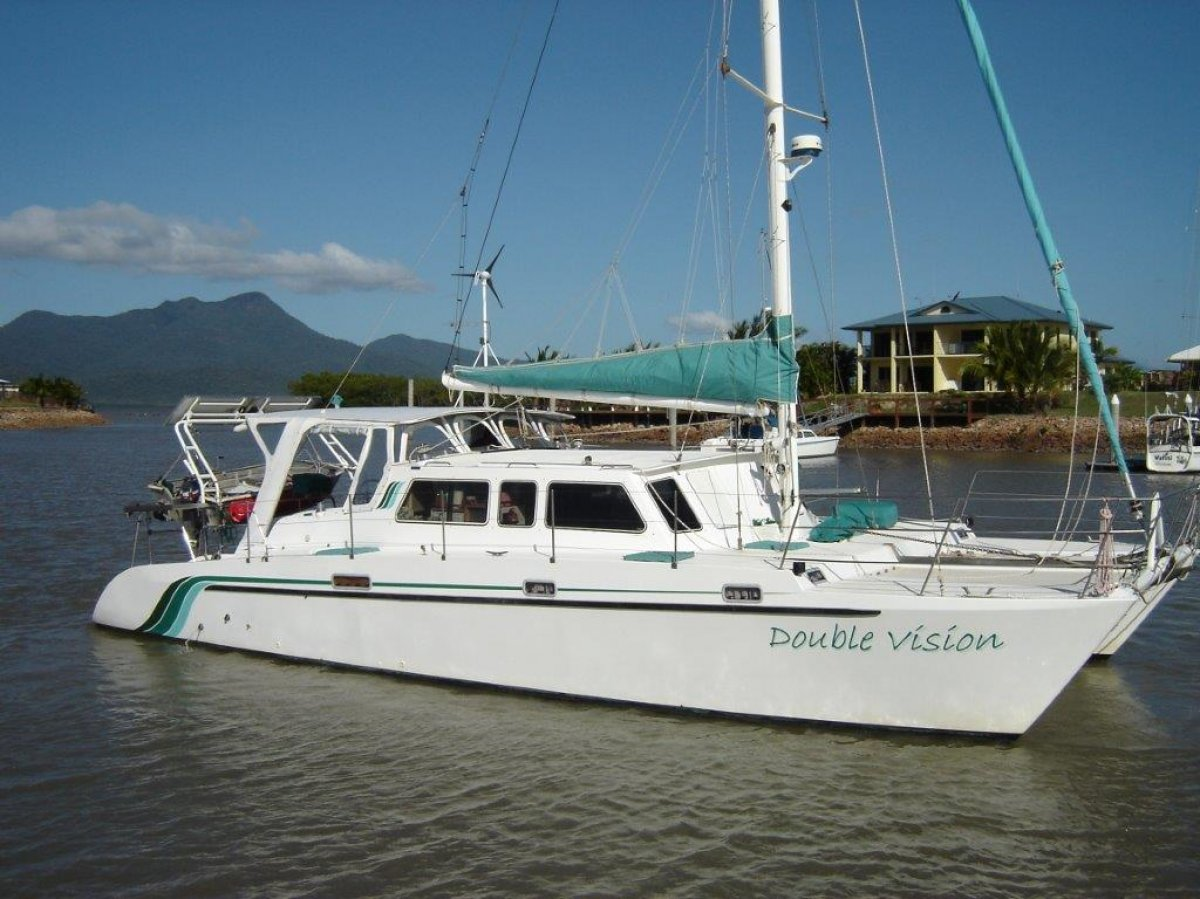 Boro 14M sailing catamaran