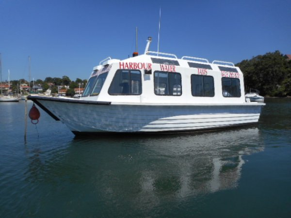 Harbour Water Taxis own 50% to 100% with support