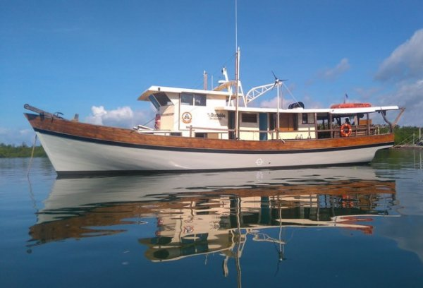 20m Traditional Style Passenger Tour and Diving Bo