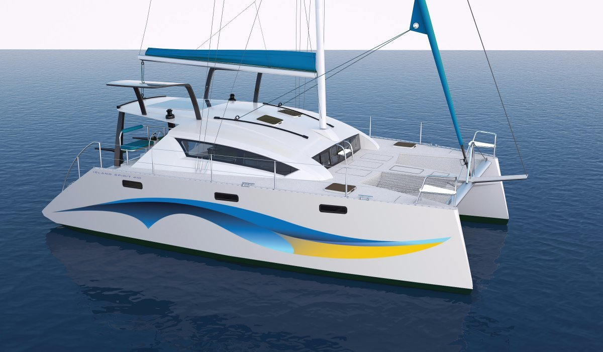 Island Spirit 410:Island Spirit 410 currently in production