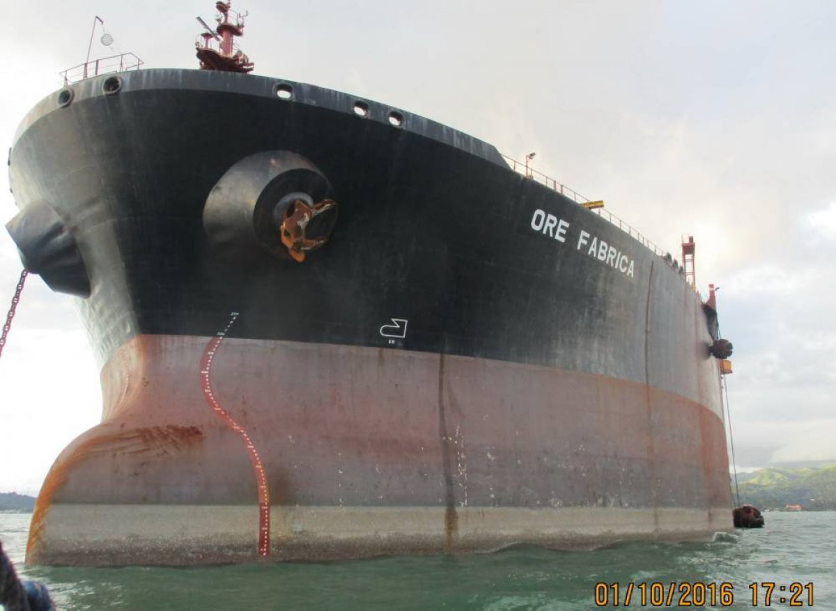 Trans Ship Ore Carrier