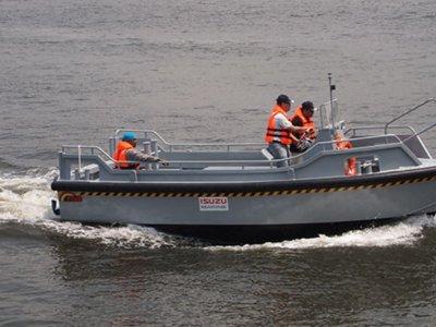 Five AB&E Centurion 21 Minitug Workboat