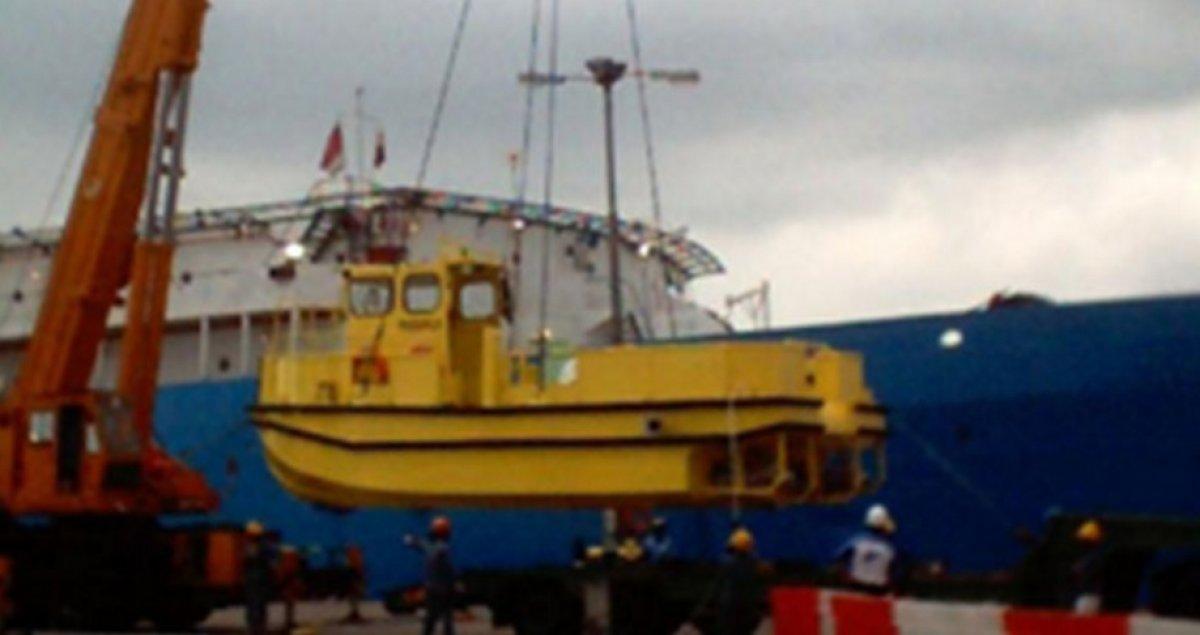 Five AB&E Centurion 30 Minitug Catamaran