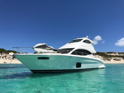 Maritimo A50 Aegean Enclosed Luxury 50+ foot motoryacht