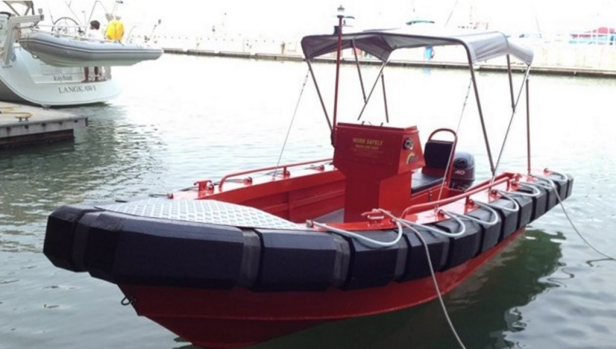 Five AB&E Vigilant 18 RHFC Workboat