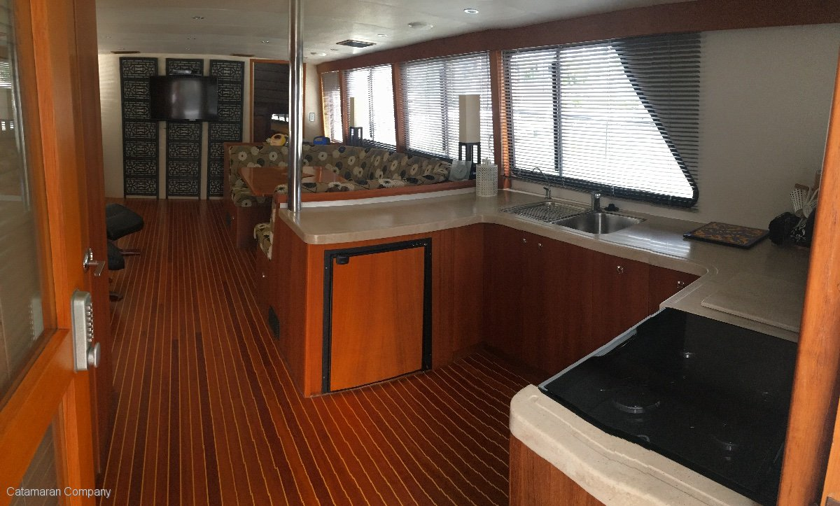 Customcat 52' Coastal Passage Maker