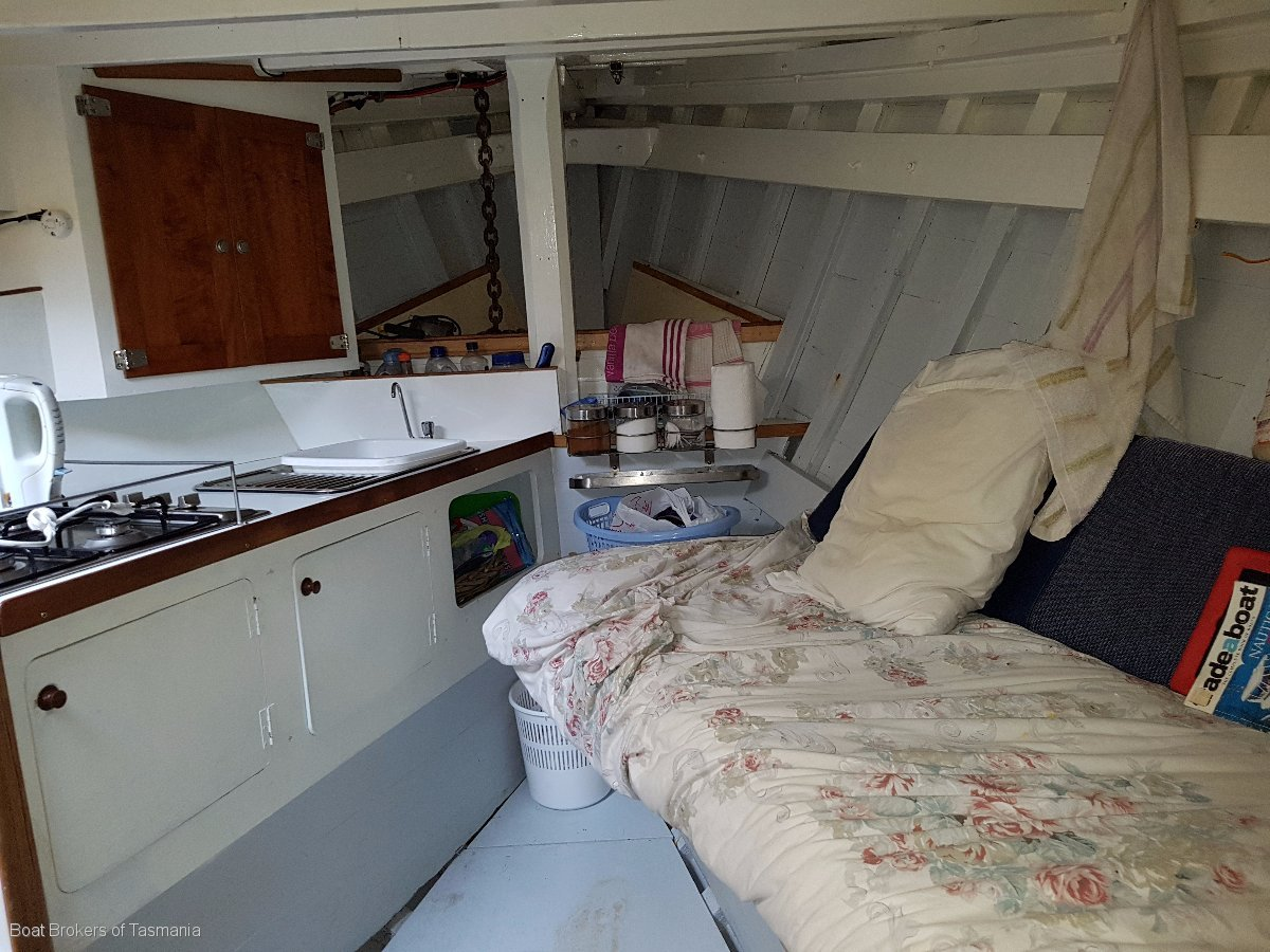 Marlissa Wilson Cray Boat In current 3C Survey. Boat Brokers of Tasmania