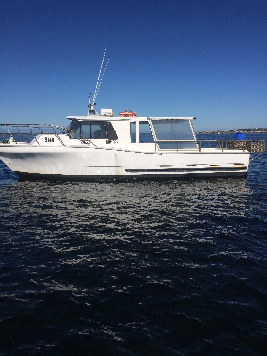 Steber Fibreglass fishing vessel