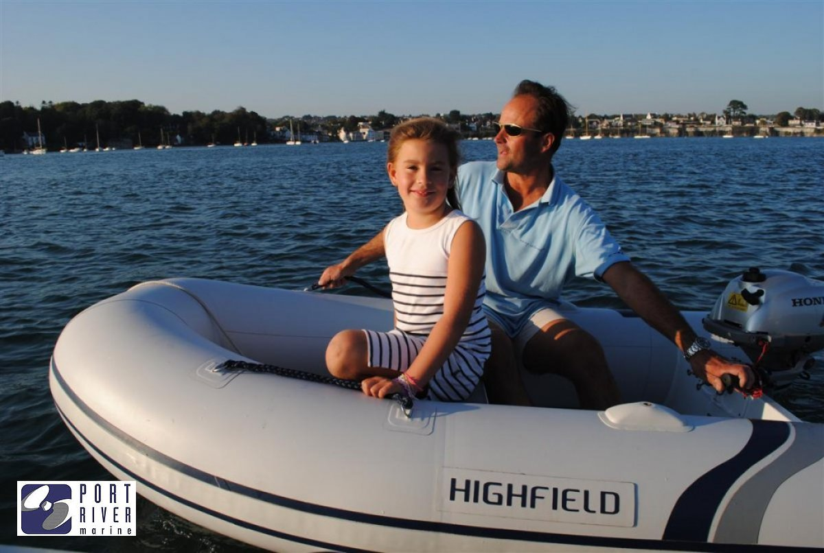 Highfield Ultralite 240 PVC | Port River Marine Services