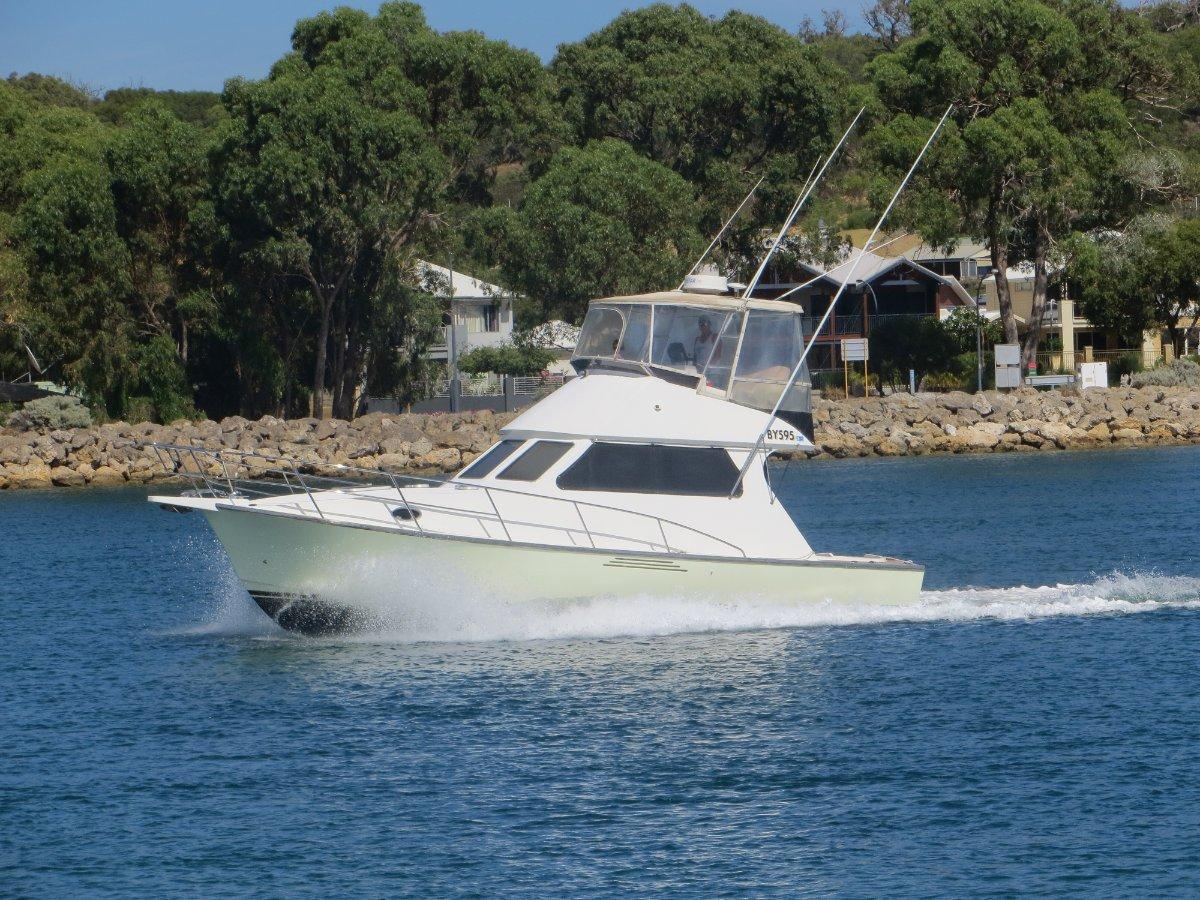 Hartley 36 Flybridge Cruiser Custom