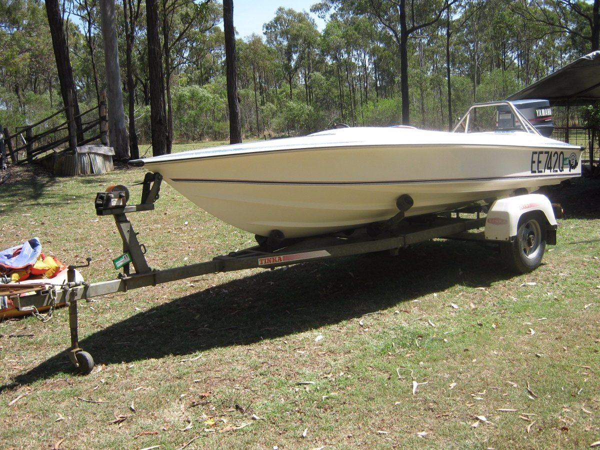 Dancraft 15.4 Hull and Trailer only