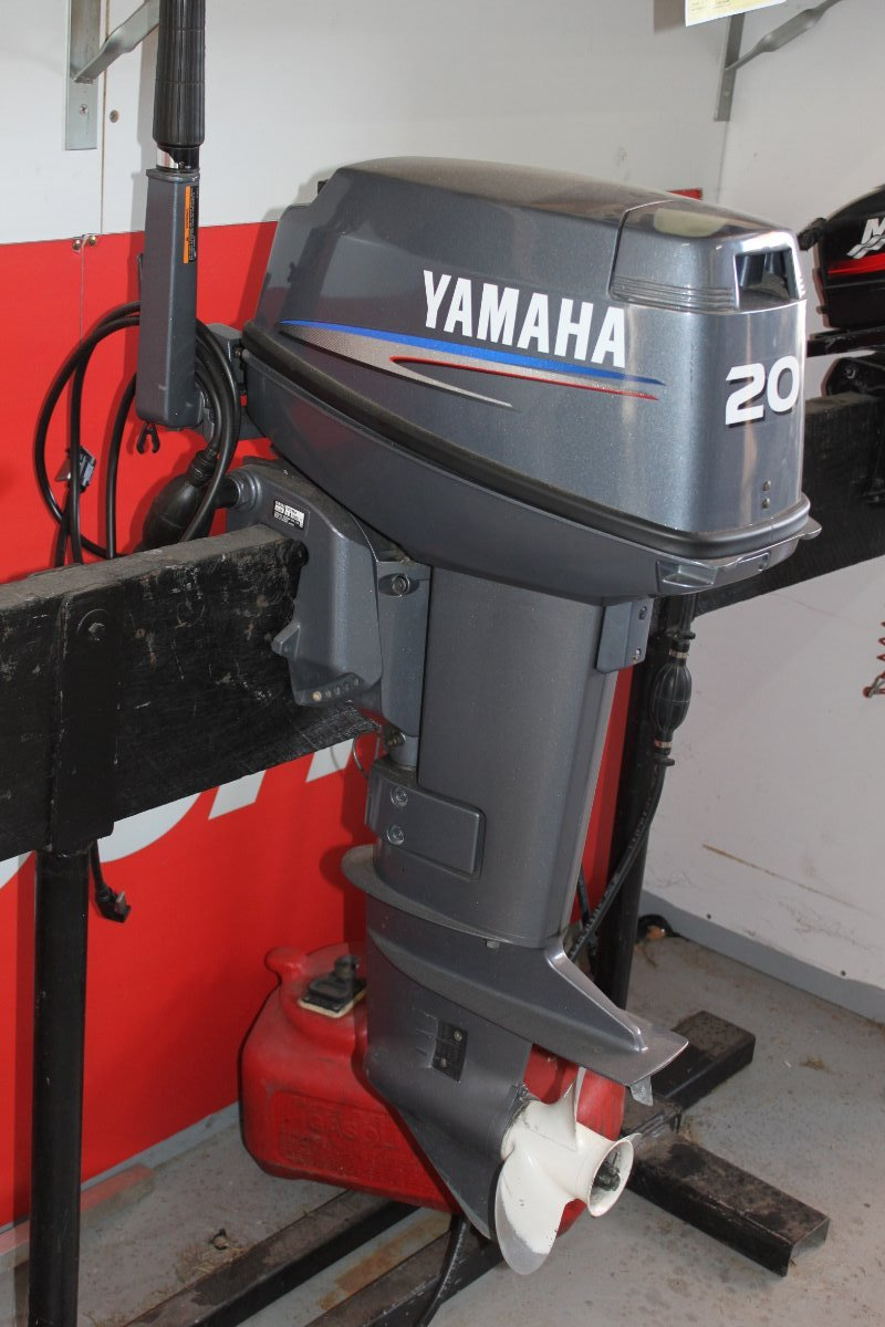 Preowned Yamaha 20hp Outboard Motor For Sale Boat