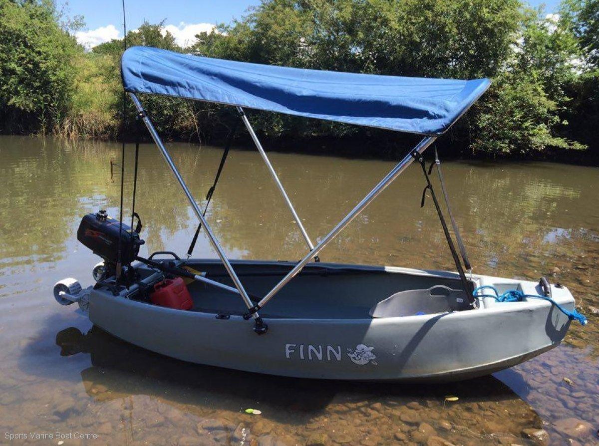 Finn Castaway Fishing Dinghy - 2.4m length, weight 18kg