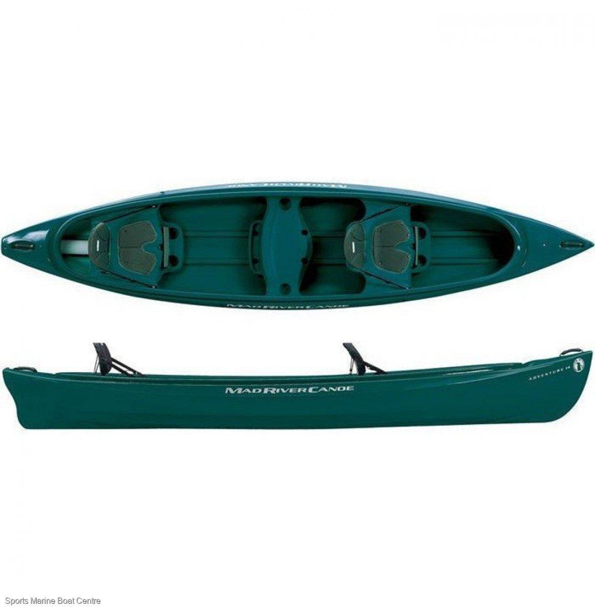 Mad River Adventure 14 Canoe 3 seater