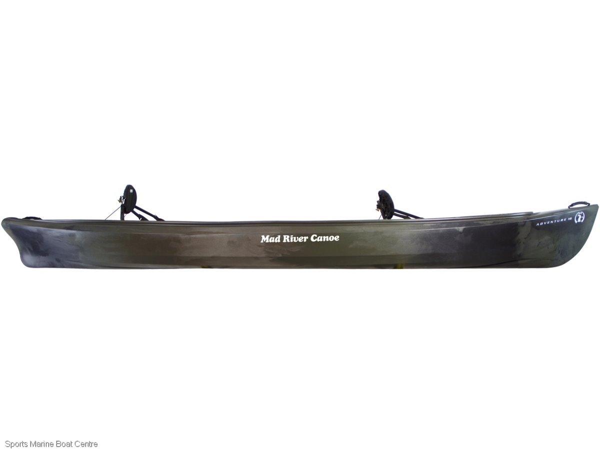 Mad River Adventure 16 Canoe 3 seater