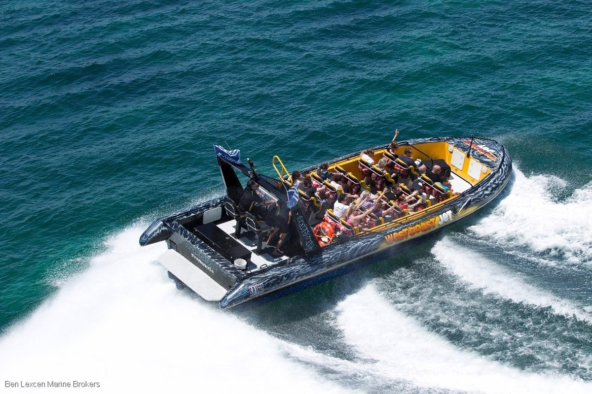 Alucraft 12m Jet Boat Passenger thrill seeker.