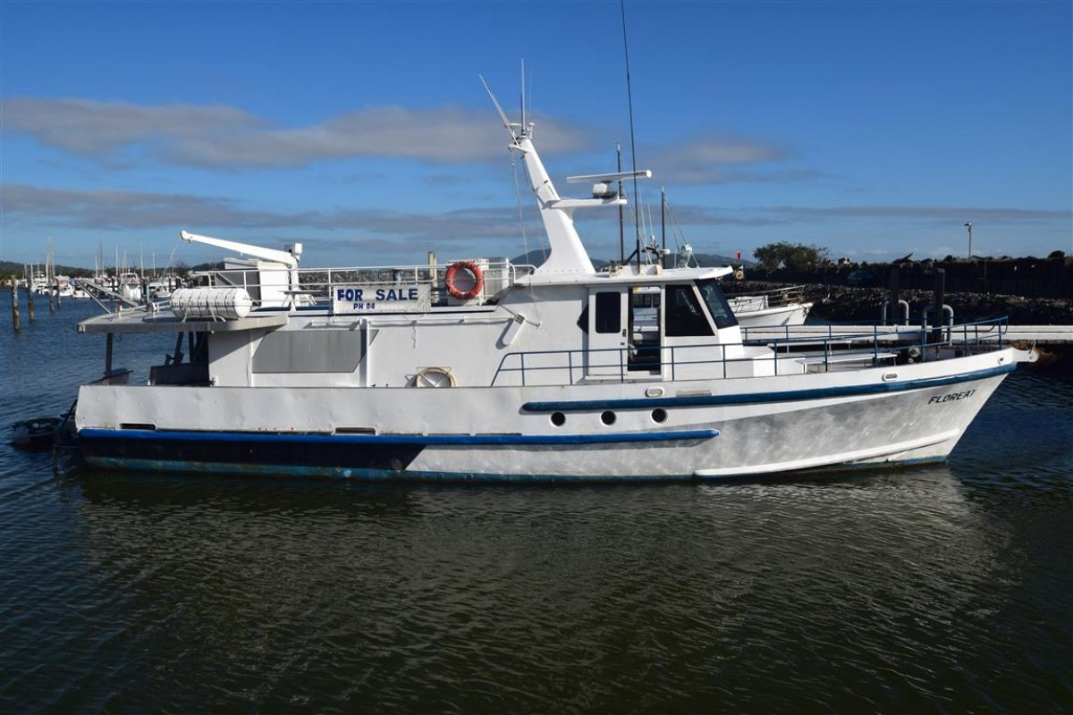 18.4m Steel Motor Vessel