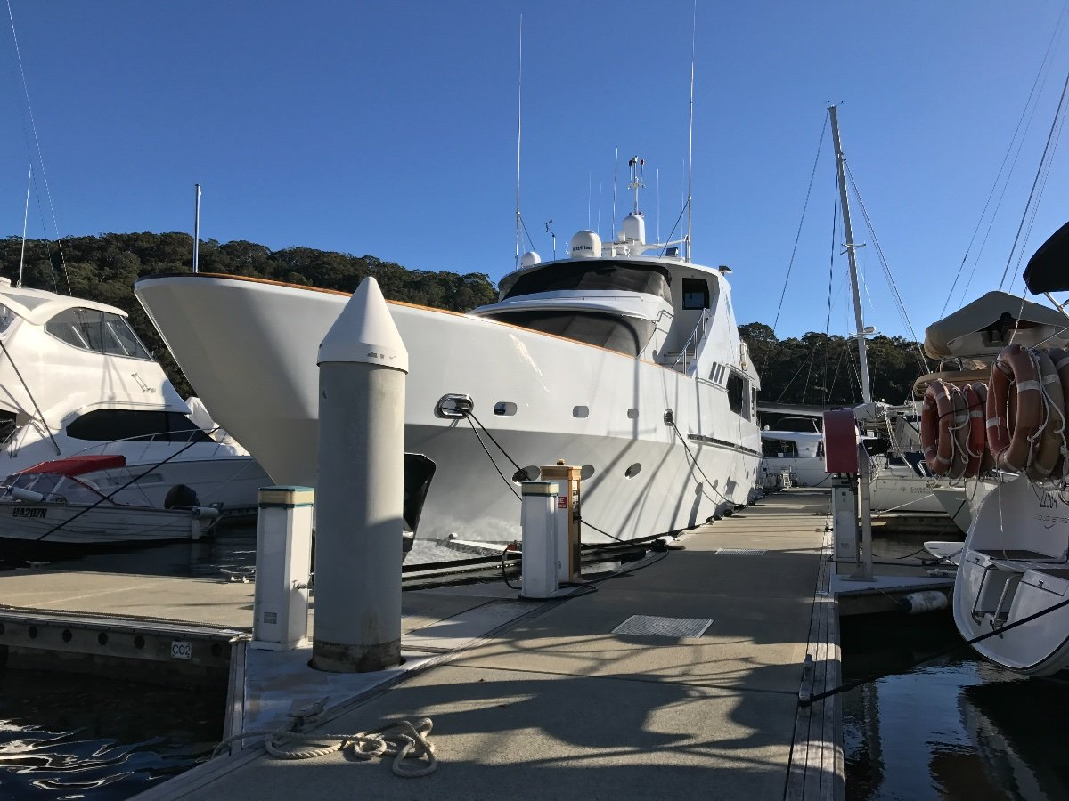 Up to 32m Berth for rent
