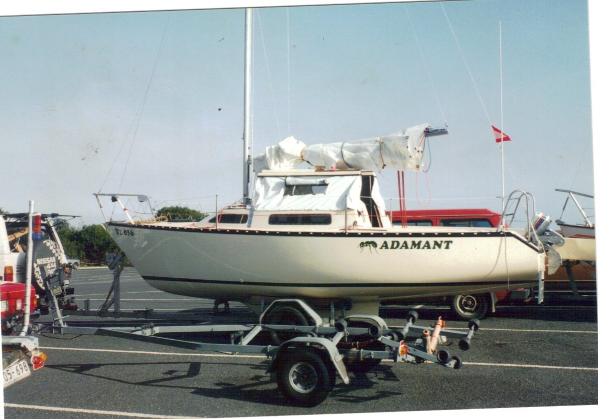 Adams 21ft Trailer Sailer