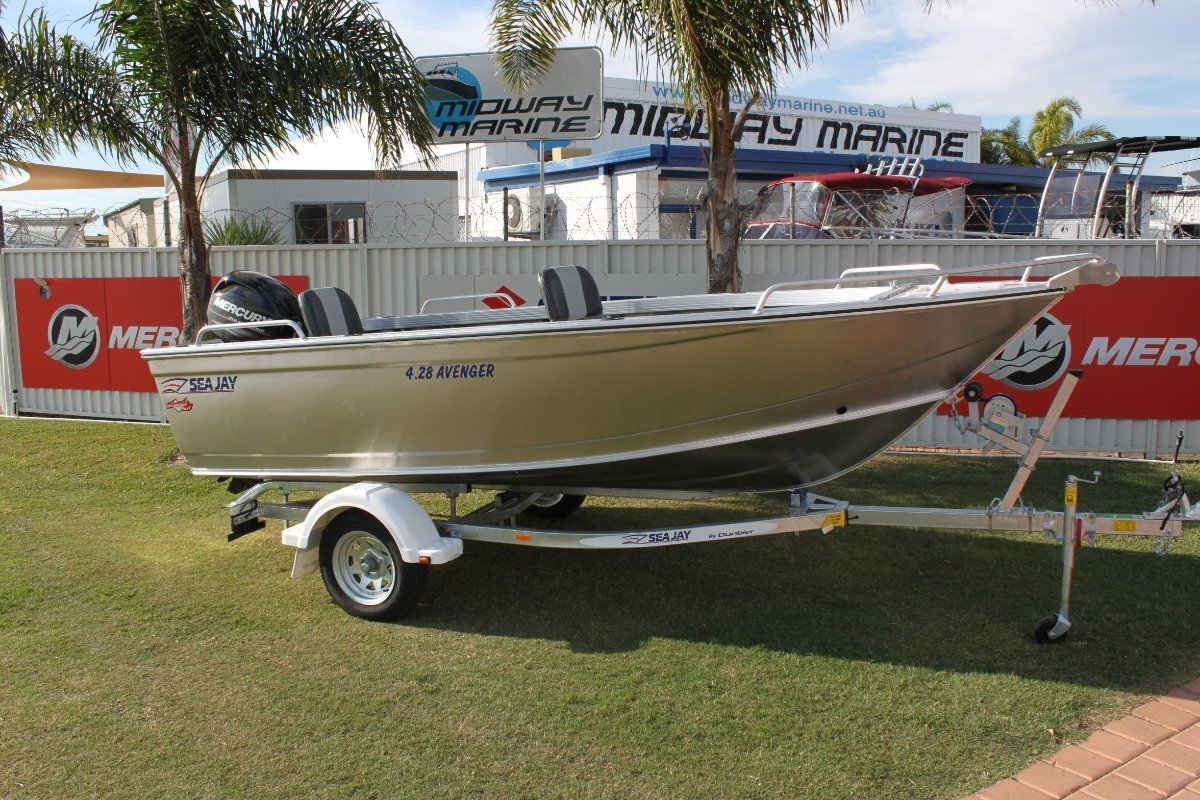 Sea Jay 4.28 Avenger Open boat ***IN STOCK***