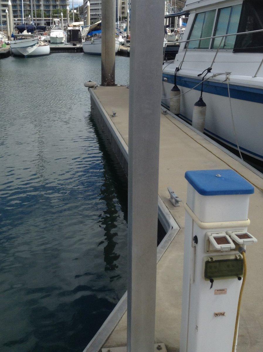 12m Marina berth (I7) Townsville Yacht Club