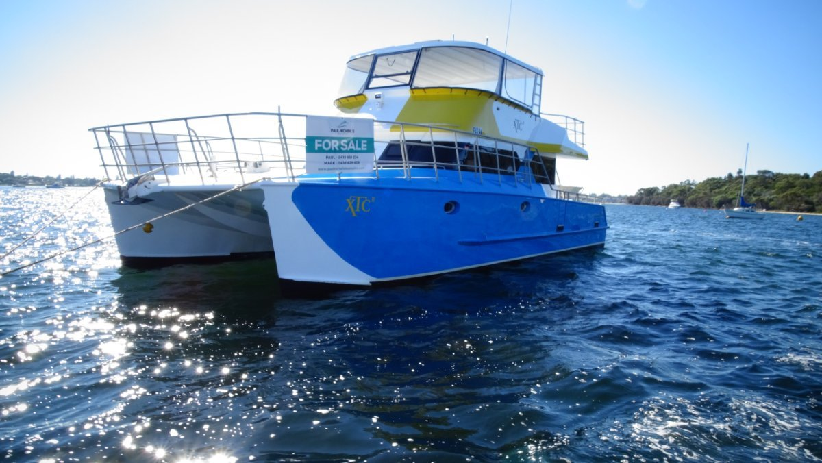 New Wave Catamaran PAUL STANYON DESIGN 43 EXPLORER