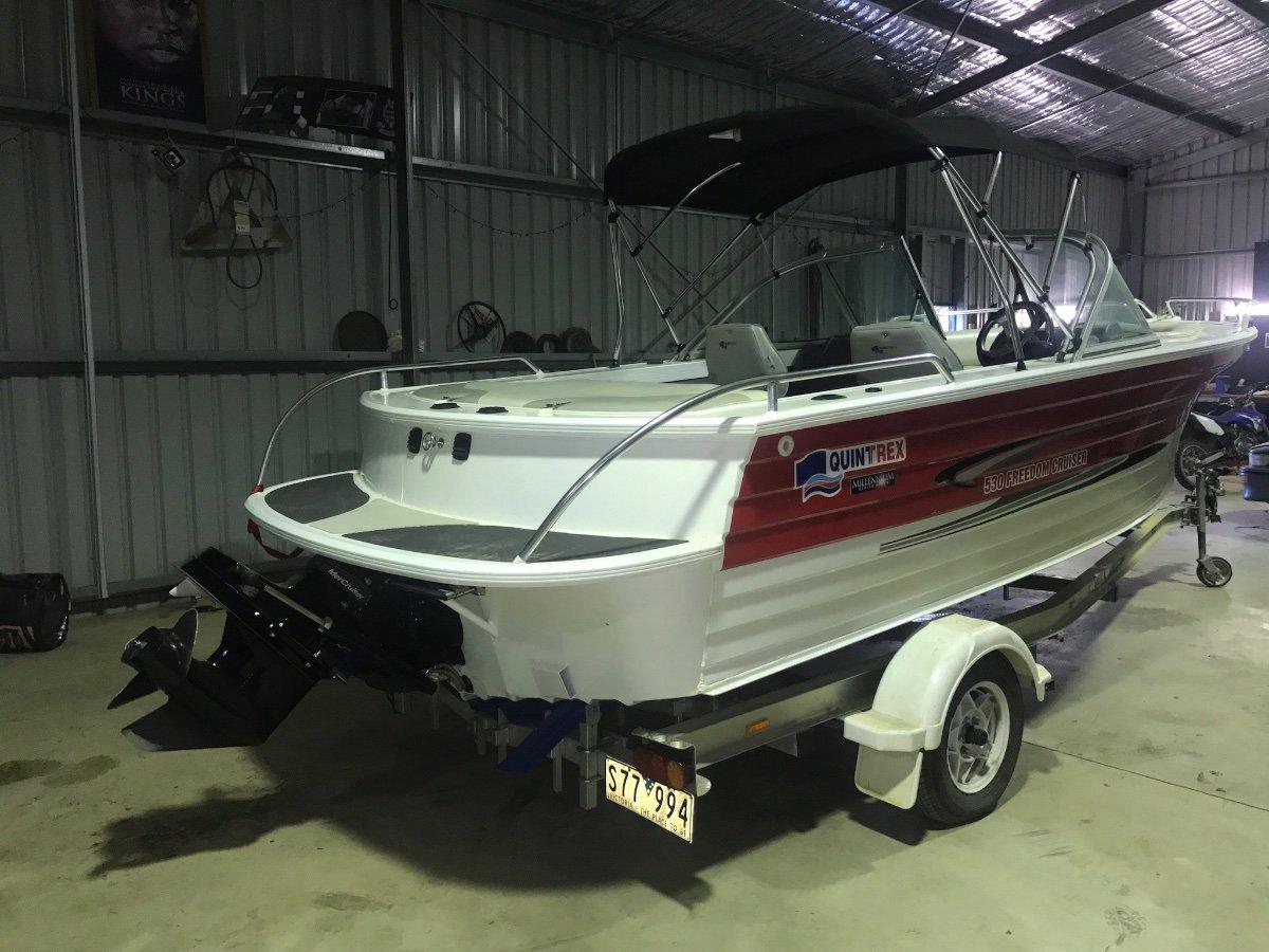 Quintrex 530 Freedom Cruiser
