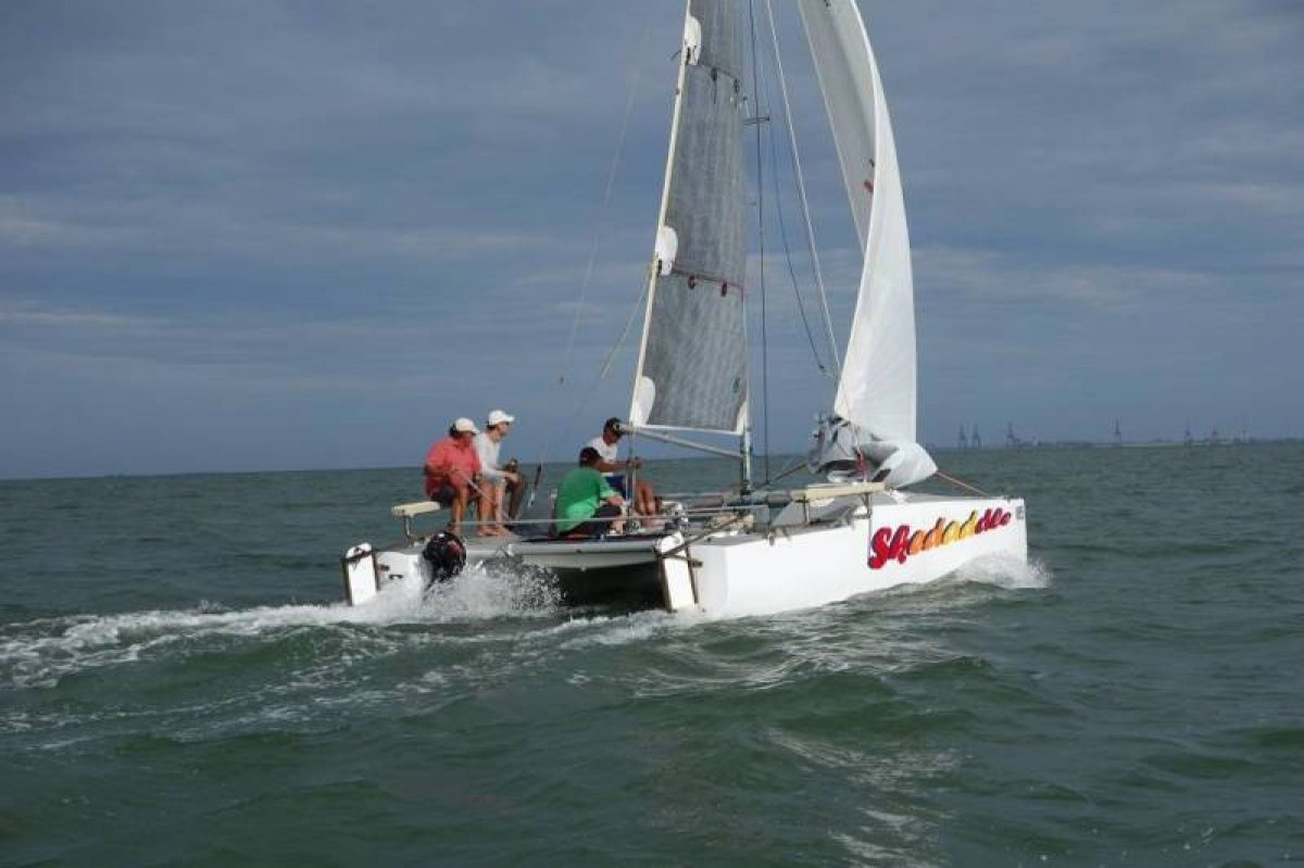 Skedaddle: 22ft OAK racing catamaran
