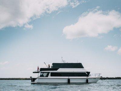 Innovation Catamaran 488 Powercat 53 Foot Power Cat Coastal Cruiser