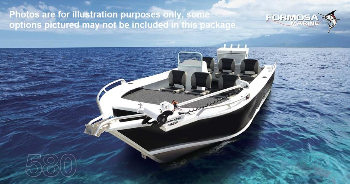 Formosa Tomahawk Offshore 550 Side Console