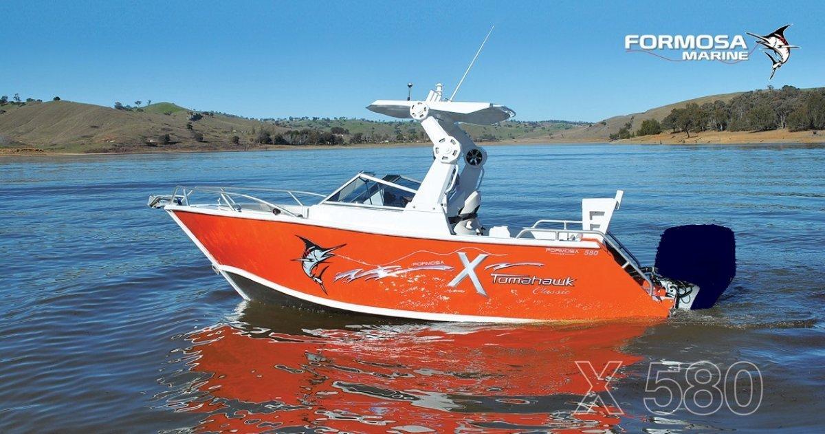 Formosa Tomahawk Classic 580 X Bowrider