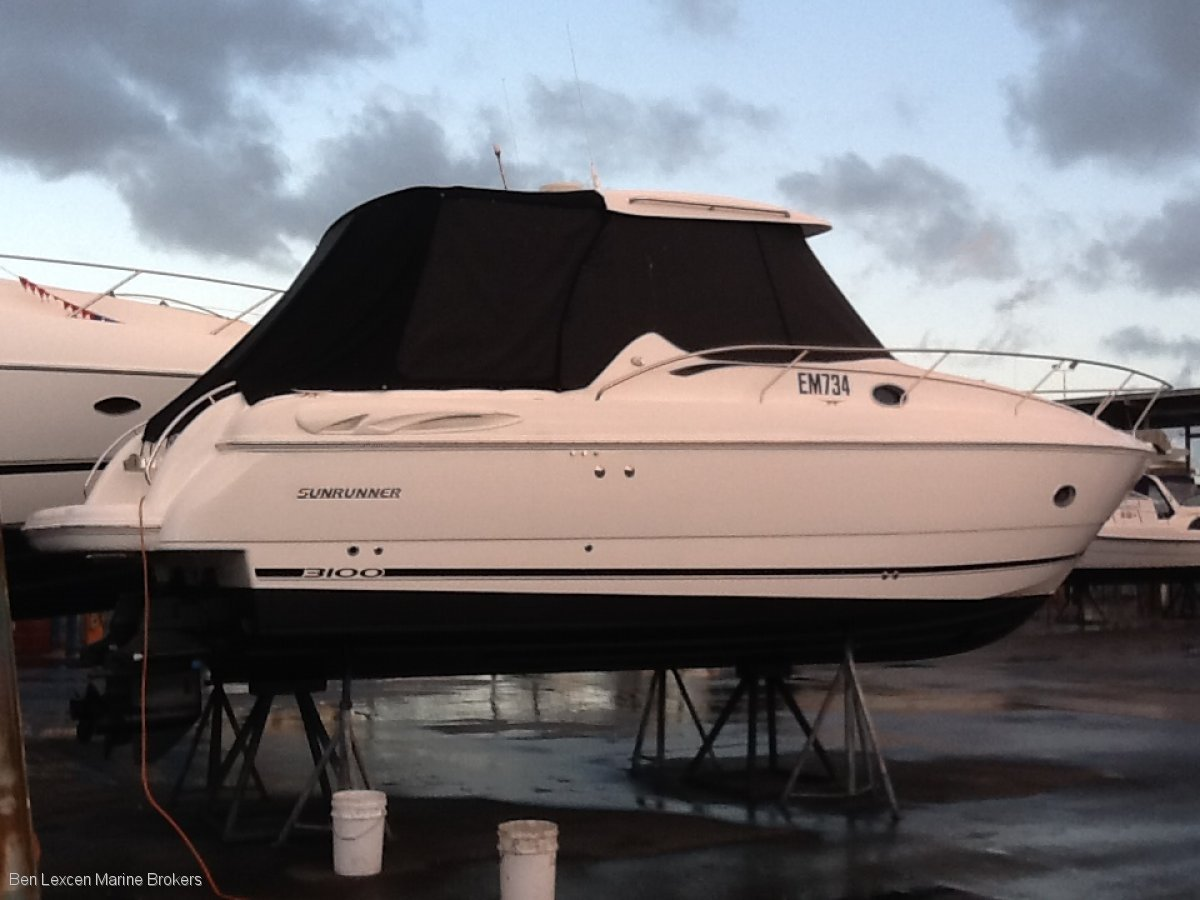Sunrunner 3100 Sport Fisher Hard Top