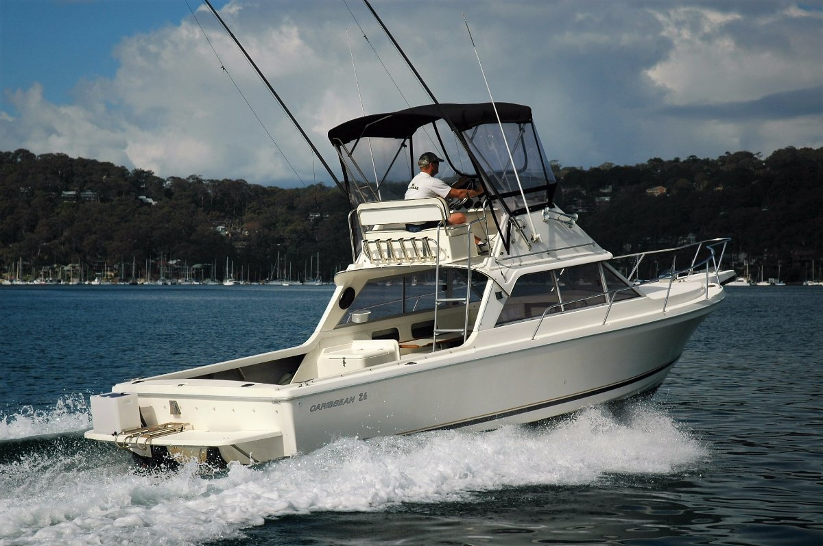 Caribbean 26 Flybridge Sports Fisherman - SOLD
