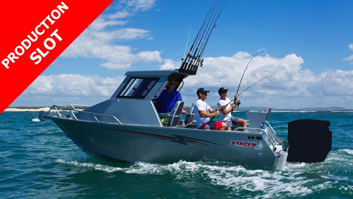 Stacer 659 Ocean Ranger Hard Top SDF + Yamaha F150XB 150hp 4-Stroke