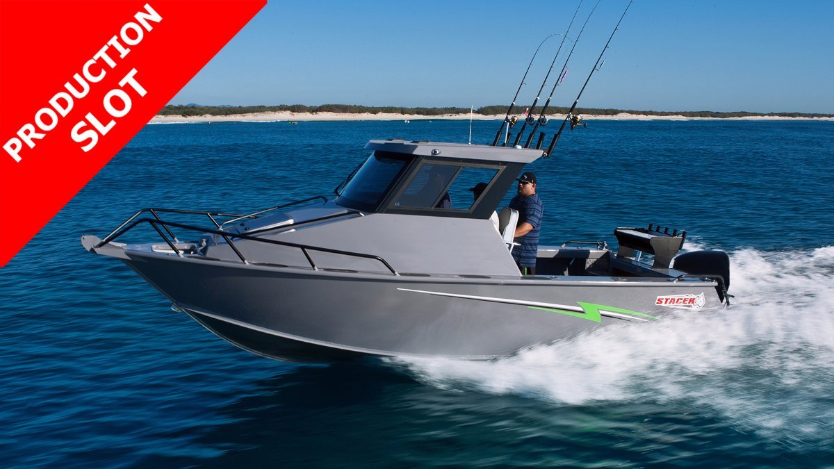 Stacer 759 Ocean Ranger Hard Top SDF + Yamaha F200XB 200hp 4-Stroke