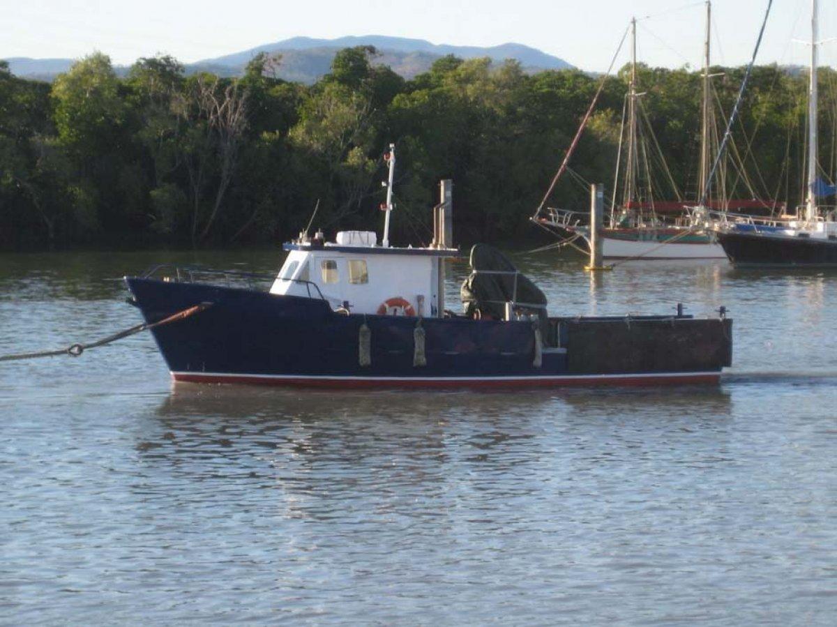 11.3m Steel Workboat