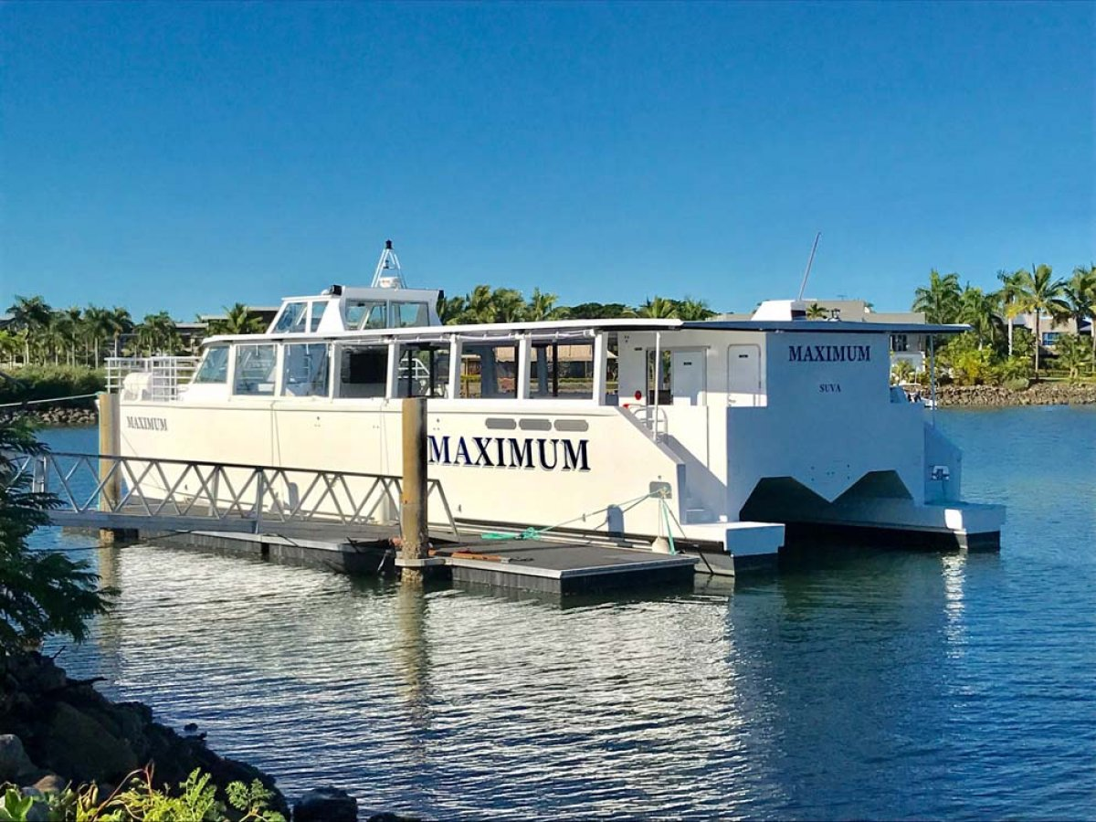 22m - 130 PAX Commercial Charter Catamaran Ferry