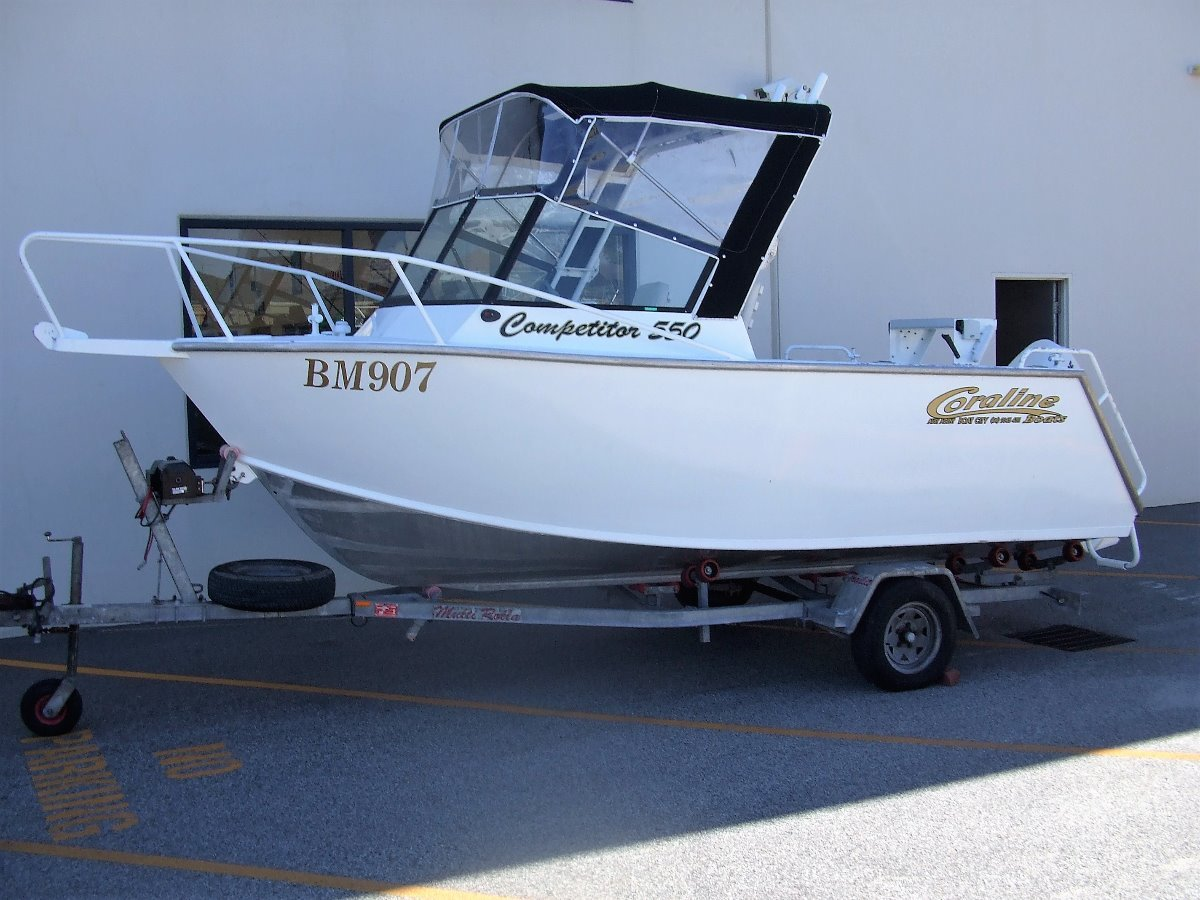 Coraline 550 Competitor Offshore Open Runabout