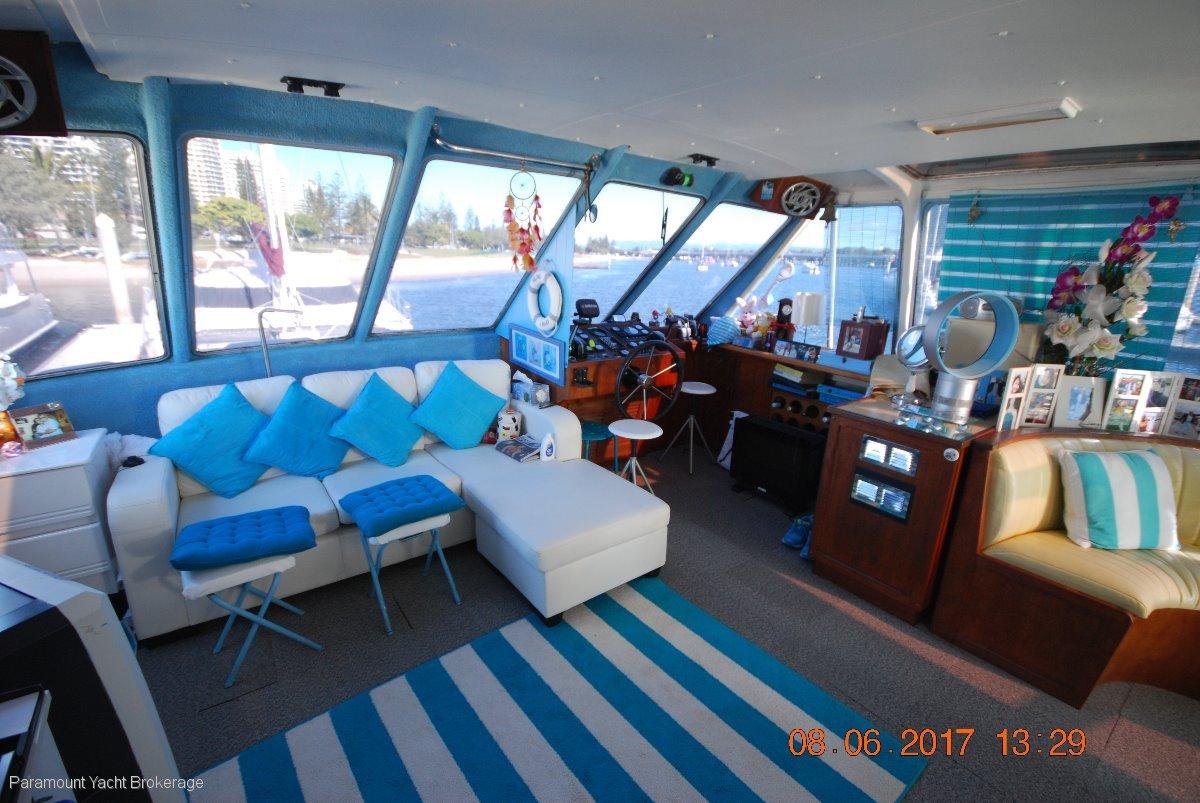 Custom Ramsay 50 home cruiser