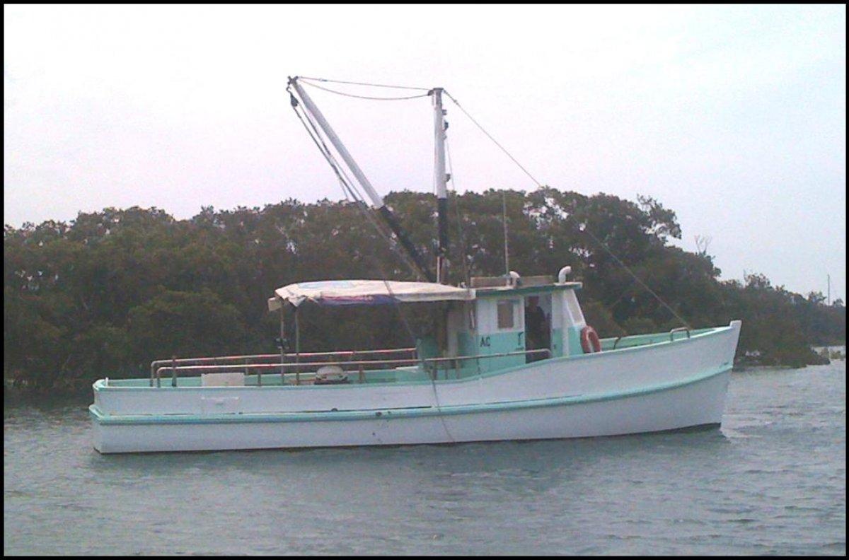 Custom built fishing boat
